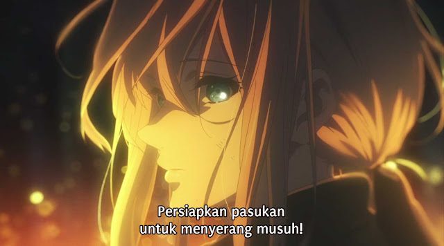 Violet Evergarden Episode 08 Subtitle Indonesia