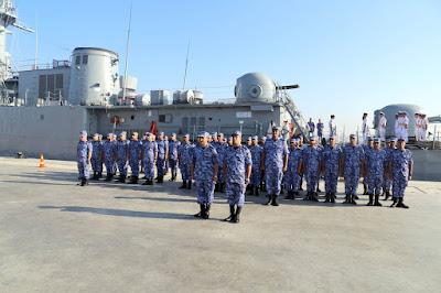 """إنضمام الفرقاطة """" شباب مصر """" إلى القوات البحرية بعد وصولها من دولة كوريا الجنوبية"""