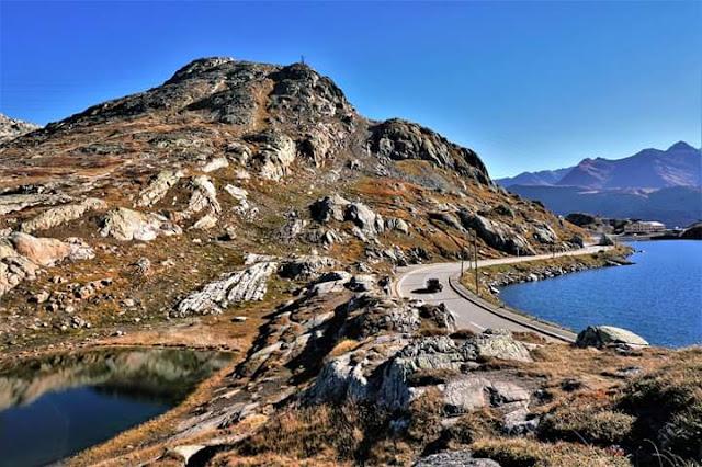 Gambar Pemandangan Alam Indah di Swiss Danau Grimsel