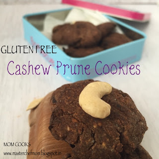 Finger Millet Prune Cookies