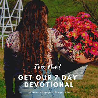Free Devotional, grow your faith, Rosevine Cottage Girls, Devo, Downloadable devotional, Christian Book, Build Your Faith