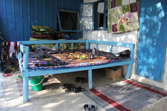 Tadjikistan, Khodjent, Ghozyion, tapchane, tapshan, © L. Gigout, 2012