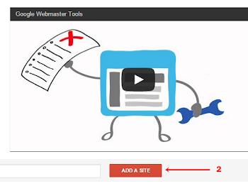 Cara Mendaftarkan Blog/Situs ke Google Webmaster Tool