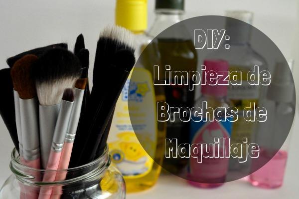 limpiador brochas de maquillaje hecho en casa