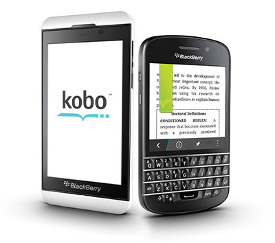 Kobo for BlackBerry OS 10