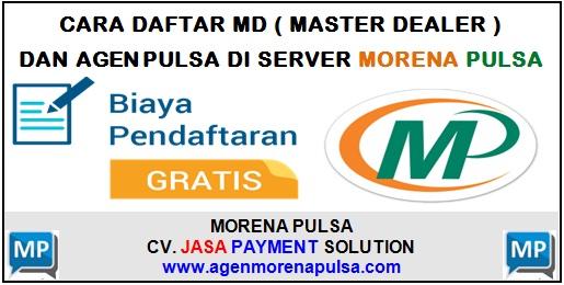 Cara Daftar MD dan Agen Pulsa di Server Morena Pulsa