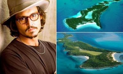 Kehabisan Tempat Menyimpan Uang, 10 Artis Hollywood Ini Beli Pulau Sendiri