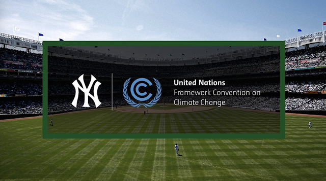 New York Yankees trade baseball victories for — the UN Climate Agreement – Become 1st major sports team to sign on to UN Sports f