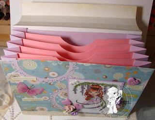 Divider view of Colouring Storage Folder