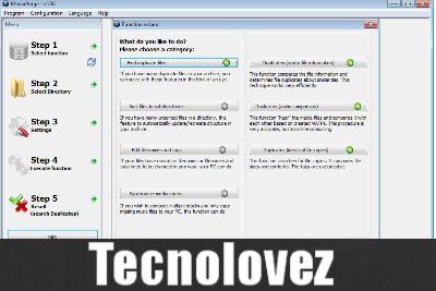 Mediapurge - Programma per pulire il sistema dai file multimediali duplicati