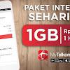 Nih..!! Cara Paket Internet Murah 1 GB Hanya Rp10 rb Dari Telkomsel