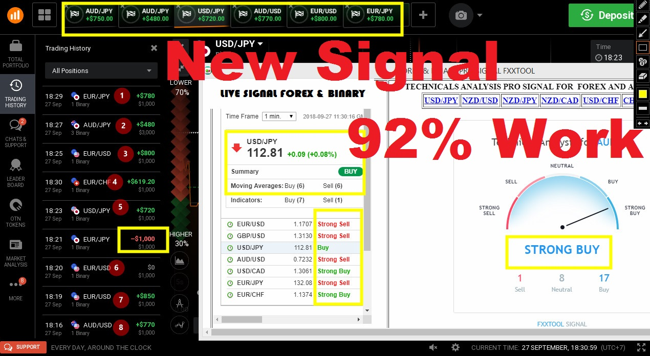 FREE SOFTWARE BOT SIGNAL IQ OPTION - BEST SIGNAL HIGH ACCURACY WIN