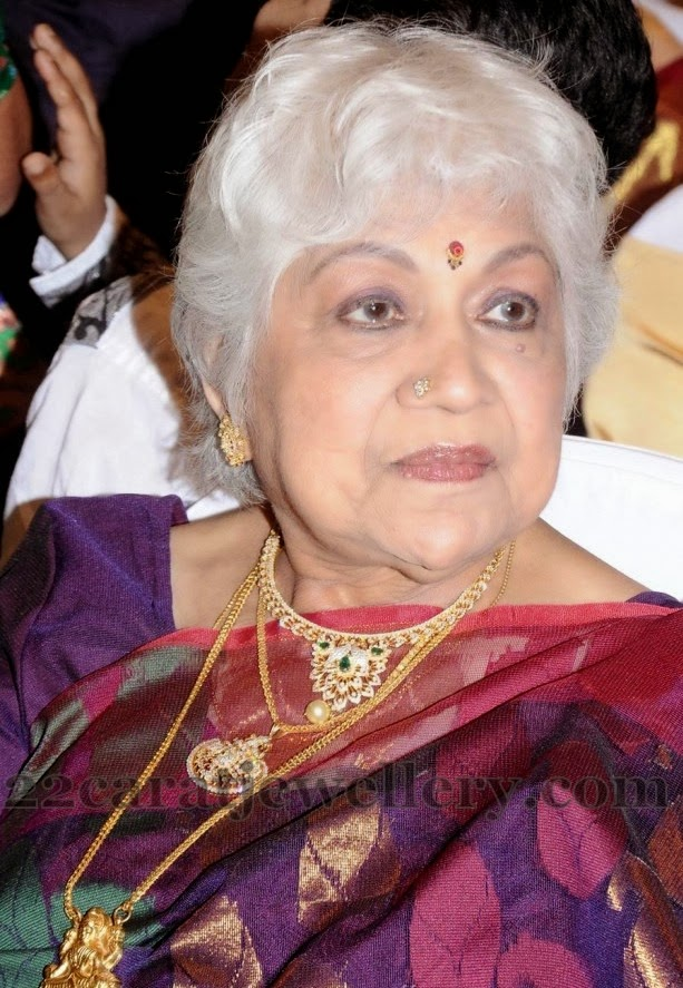 Sowcar Janaki Diamond Sets Jewellery Designs
