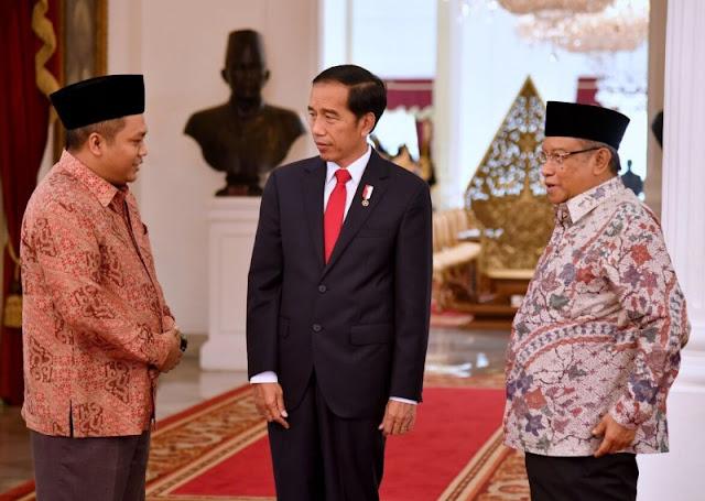 Ketum PBNU dan Pagar Nusa Temui Presiden Bahas Persoalan Rohingnya Secara Serius