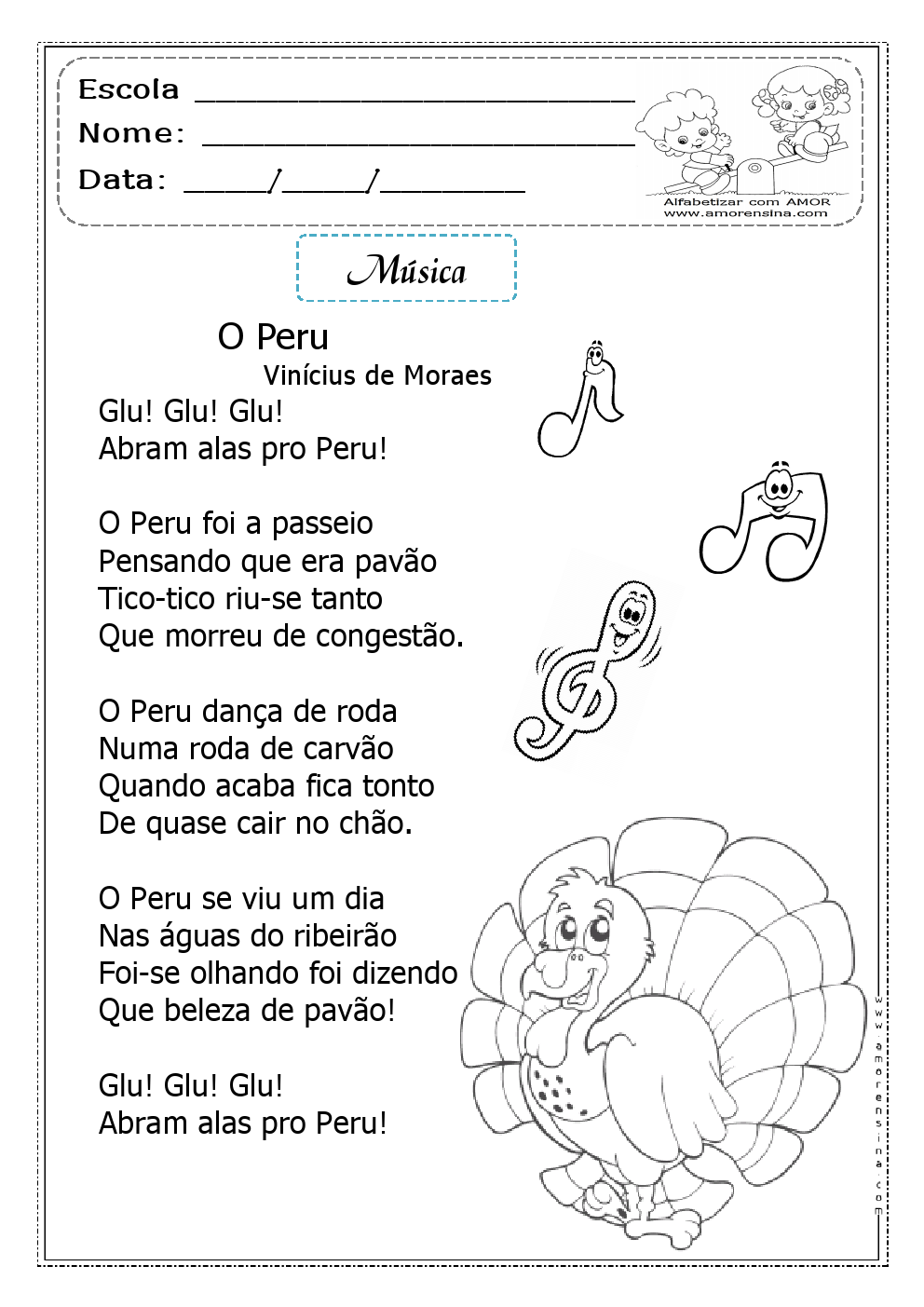 Escola Tiragem Portal Interpretacao E Producao De Textos Poemas