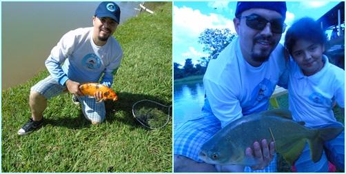 Pesque e Pague Vale do Sol, Pesca, Peixe