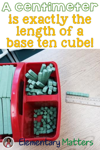 Tricks to Remember Measurement Units: here are some ways to help the kiddos remember some measurement units, without carrying around a ruler!