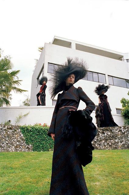 Avery Blanchard, Katya Ledneva, Eva Klimkova by Michael Pudelka for Vogue Japan, October 2015