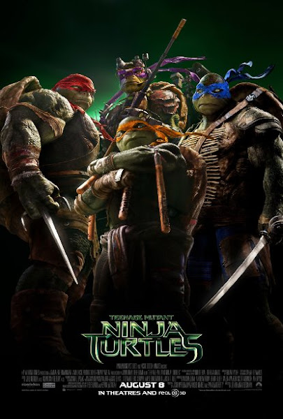 Poster Of Teenage Mutant Ninja Turtles 2014 720p BluRay Dual Audio