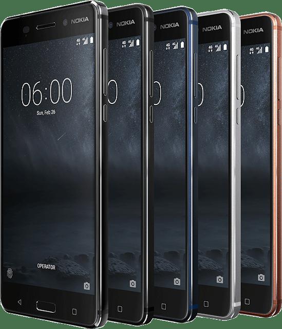 Thông tin chi tiết những con chip được sử dụng trên điện thoại Nokia 2017
