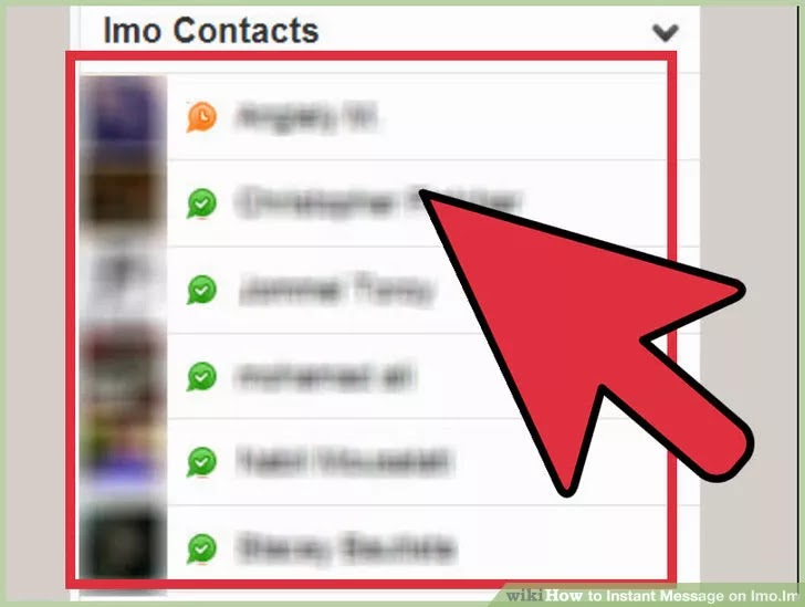 Instant Message On Imo Apps Guide Android Apps