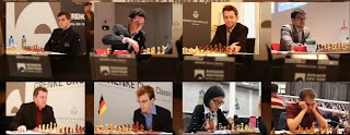 Les participants du Grenke Chess Classic 2017 - Photo © site officiel