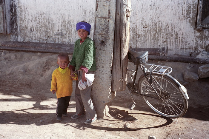 Tibet, Lhassa, © L. Gigout, 1990