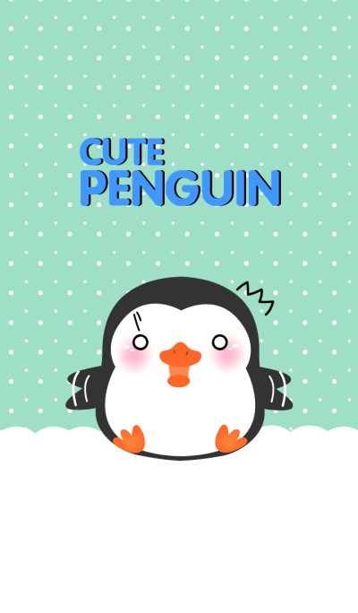 Cute Fat Penguin Theme