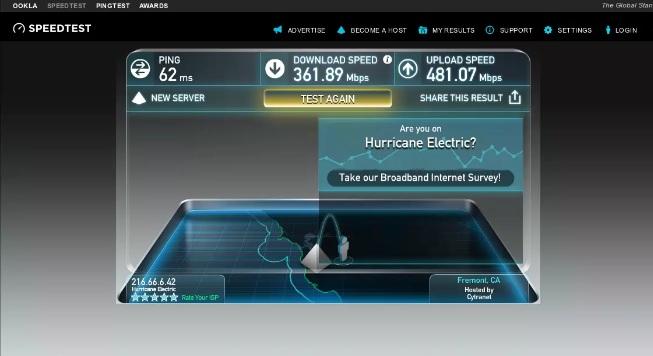 استفد من سرعة انترنت تصل إلى 800 ميجابايت في الثانية مع ميزات إضافية