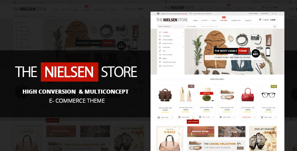 Free Download Nielsen V1.2.2 E-commerce WordPress Theme