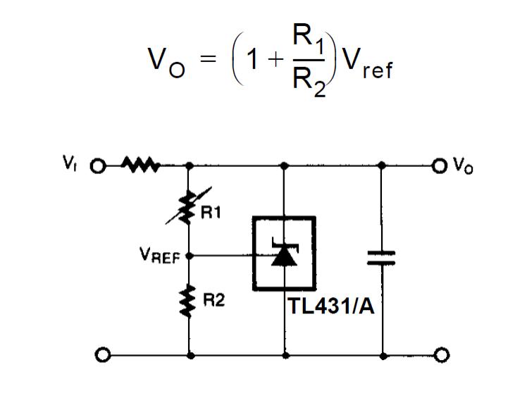 how shunt regulator tl431 works datasheet application circuits explained. Black Bedroom Furniture Sets. Home Design Ideas