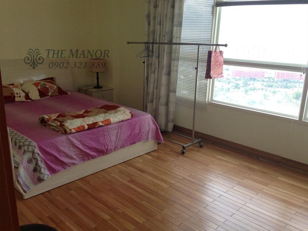 Căn hộ The Manor 100m2 cho thuê block AW tầng 24 full nội thất - hình 12