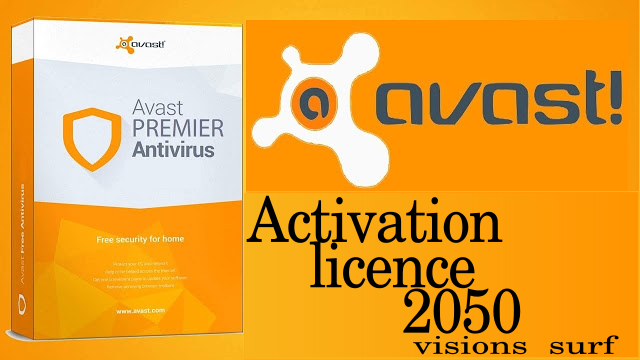 Clé licence d'activation Avast