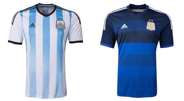 Camisetas selección Argentina Mundial 2014