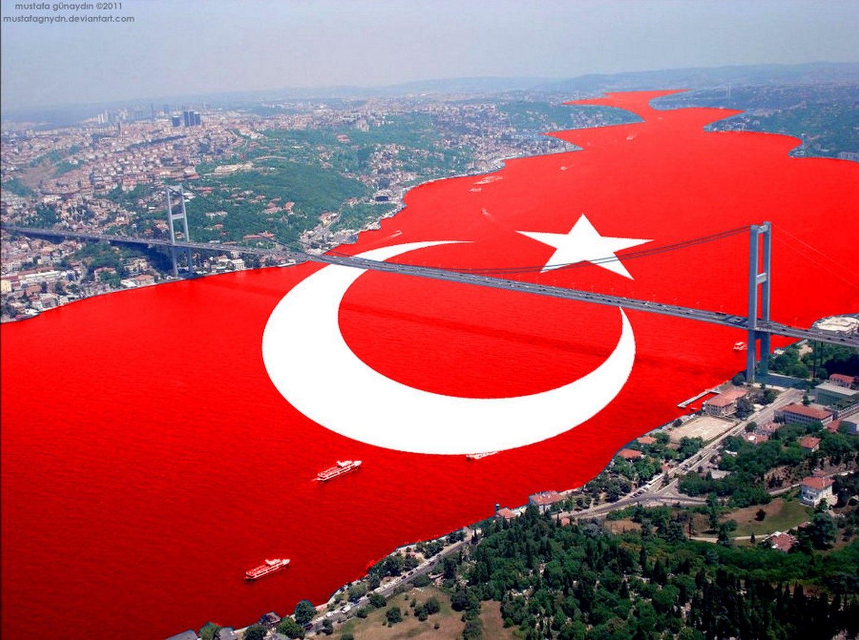 En Güzel Türk Bayrağı Resimi Türk Bayrakları