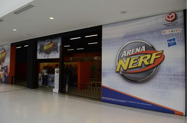 Arena Nerf  no Shopping Recife
