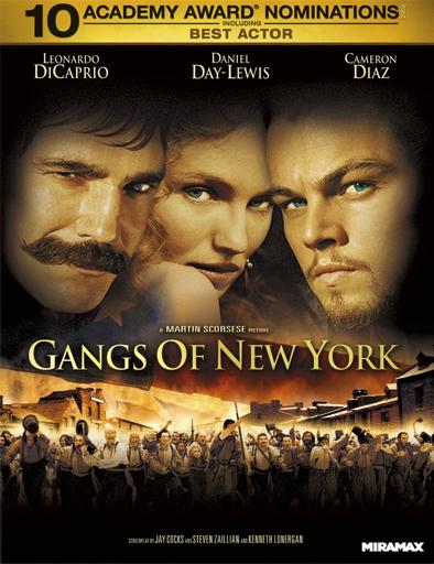 Ver Pandillas de Nueva York (Gangs of New York) (2002) Online