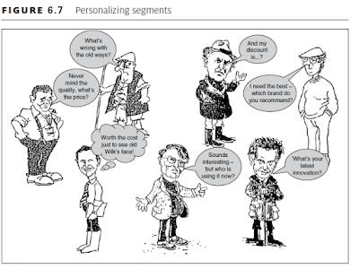 Personalizing segments