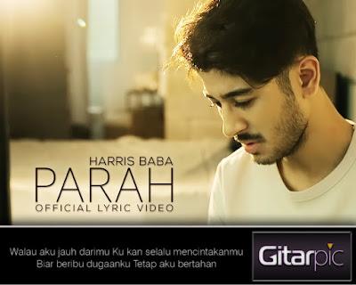 Chord Gitar Harris Baba - Parah