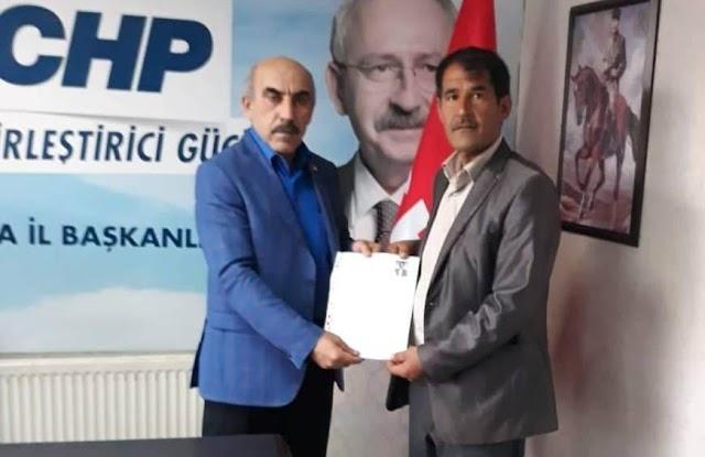 CHP, Bozova adayı Bayar olduğu açıklandı