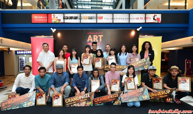 Nando's Art Initiative 2015 Exhibitions & Winners, Nando's Art Initiative, Graffiti, Street Art, Fine Art, Digital Art