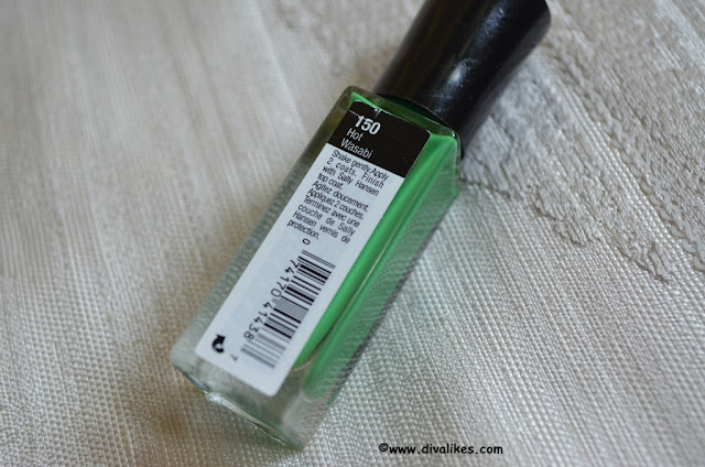 Sally Hansen I Heart Nail Art Neon Nail Color Hot Wasabi Shade