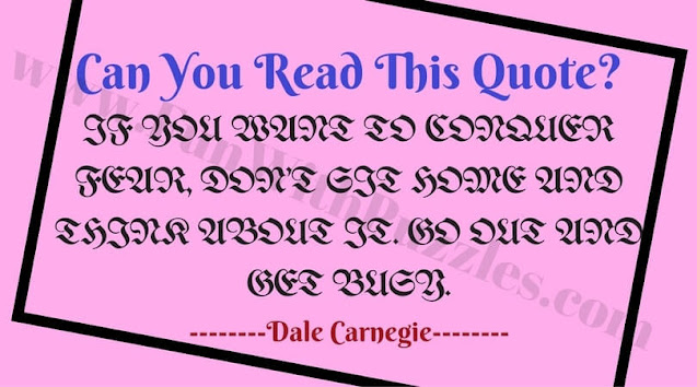 Reading Picture Brain Teaser