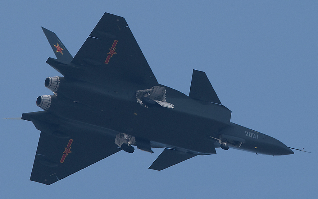 Military Reviews: China J-20 stealth fighter Jet