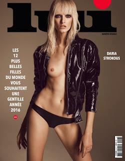 Daria Strokous Lui Magazine