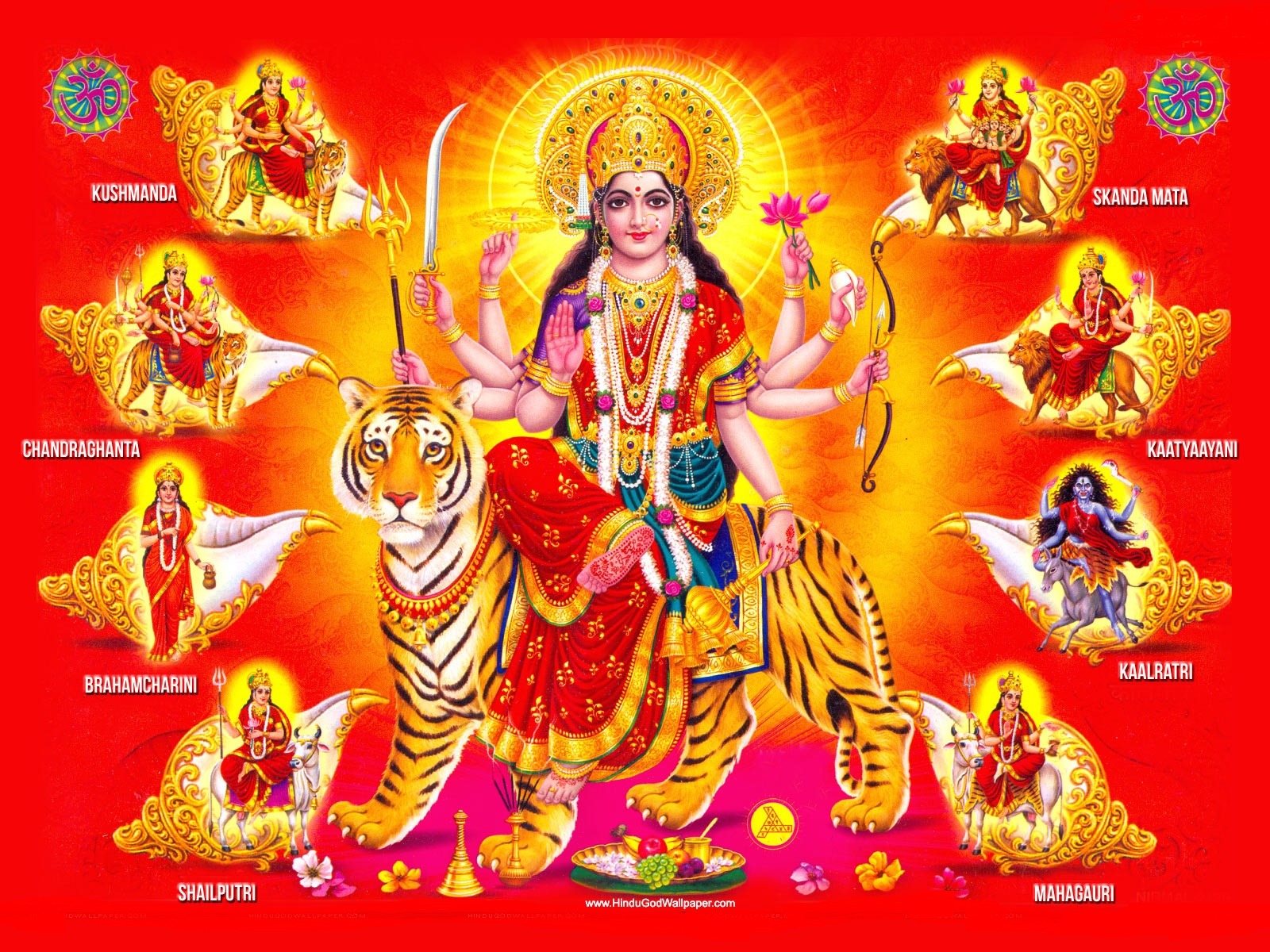 Maa Durga Dazzling Wallpapers Images And Pix God Wallpaper