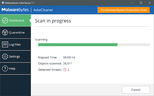 AdwCleaner 7.2.3