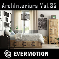 Evermotion Archinteriors vol.35室內3D模型第35期下載