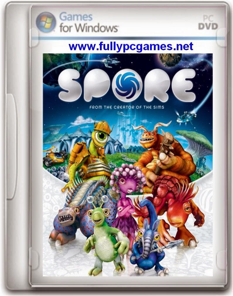 Spore free download pc game full version setup.