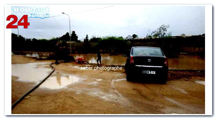 عامل شتوكة في زيارة تفقدية لأحياء هامشية في بيوكرى